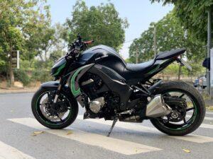siêu phẩm kawasaki z1000 dán đổi màu xe máy đen bóng lên tem rời cực đẹp 35