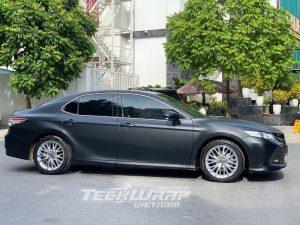 ô tô camry dán đen mờ đổi màu xe cm01m teckwrapusa 7